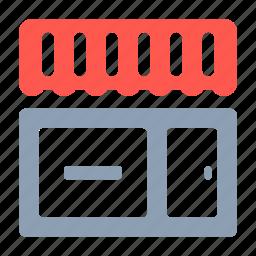 bazaar, cafe, market, shop, showcase, store icon