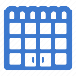 building, center, shop, shopping, store, supermarket icon