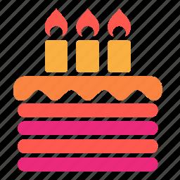 birthday, birthday cake, cake, celebrate, celebration icon