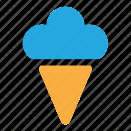 cream, frozen, frozen yogurt, ice, ice cream icon