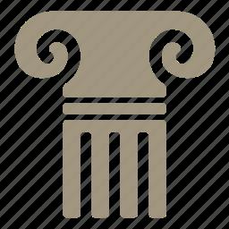 ancient, ancient rome, pillar, rome icon