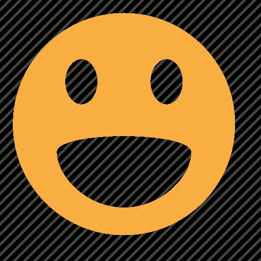 emoticon, emotion, expression, face, smile icon