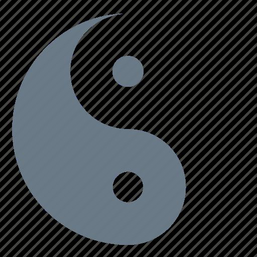 dialectics, philosophy, yang, yin, yin-yang icon