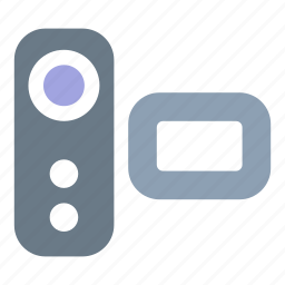 camera, device, movie, record, video icon