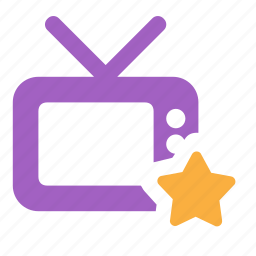 channel, favorite, smart, television, tv icon