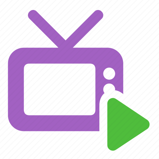 channel, media, television, tv, watch icon