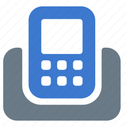 call, communication, contact, phone, stationary, telephone icon