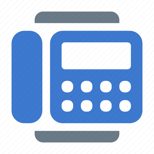 call, contact, fax, office, phone, stationary, telephone icon