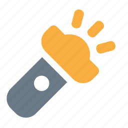 device, flashlight, gadget, light icon