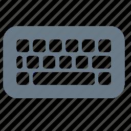computer, hardware, input, keyboard, type icon