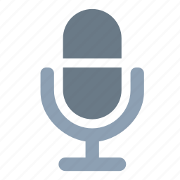 audio, microphone, radio, record, talk, voice icon
