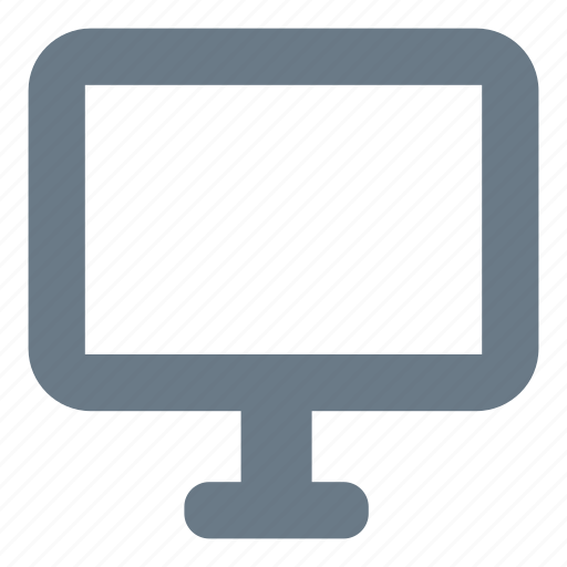 computer, desktop, device, monitor, pc icon