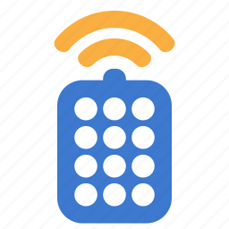 connection, control, device, remote, technology, wifi, wireless icon