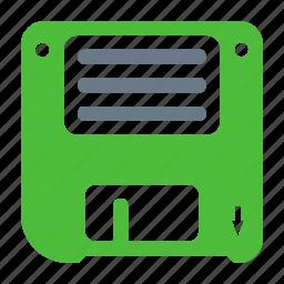 disk, floppy, guardar, save, save as, storage icon