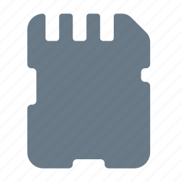 card, data, memory, sd, sd card, storage icon