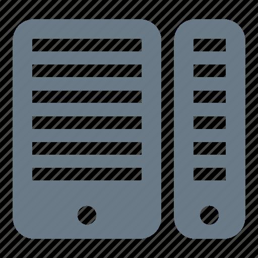 data, database, mainframe, server, storage icon