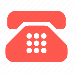 call center, connection, hot line, stationary, support, telephone icon