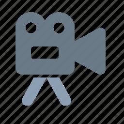 cinema, entertainment, hollywood, movie, multimedia, video, videocamera icon