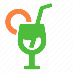 alcohol, beverage, cocktail, drink, glass, goblet icon
