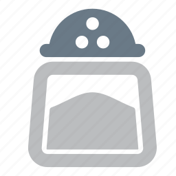 cooking, kitchen, salt, species icon
