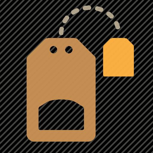 bag, hot, tea, tea bag icon