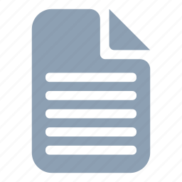 data, document, file, paper, sheet, text icon
