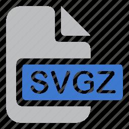document, file, graphics, svgz icon