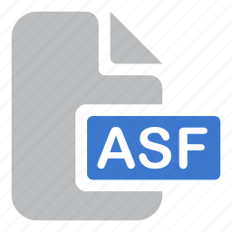 asf, document, extension, file icon