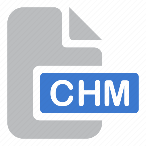chm, document, extension, file icon