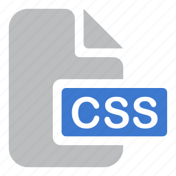 code, css, document, extension, file icon