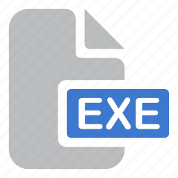 document, exe, execute, extension, file icon