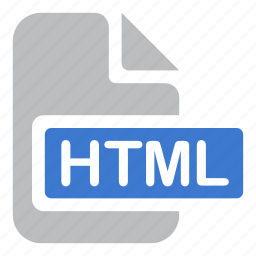 code, document, extension, file, html icon
