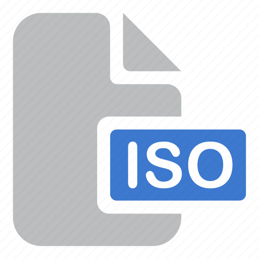 disc image, extension, file, image, iso icon