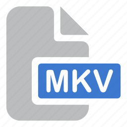 document, file, mkv, movie, video icon