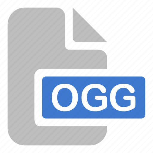 audio, document, extension, file, ogg icon