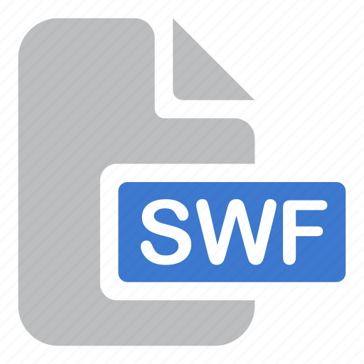 animation, document, extension, file, flash, swf icon