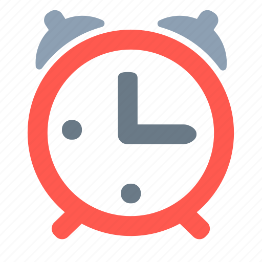 alarm, alert, bell, clock, time icon