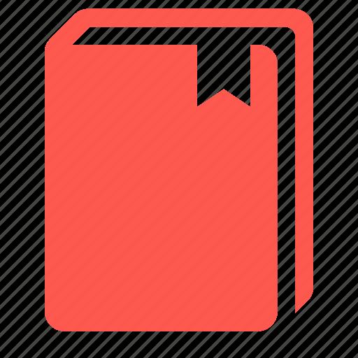 book, bookmark, education, knowledge icon