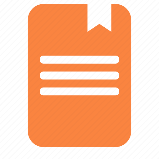 bookmark, copybook, draw, drawing, notebook, writing icon