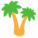 beach, holliday, palm, palms icon