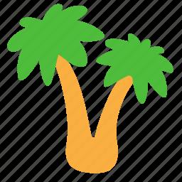 beach, holliday, palm, palms icon
