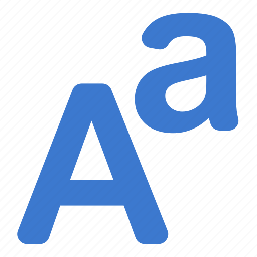 font, language, letters, type icon