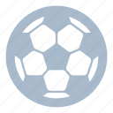 ball, exercise, football, play, soccer, sport, training icon