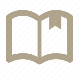 book, bookmark, list, notebook icon