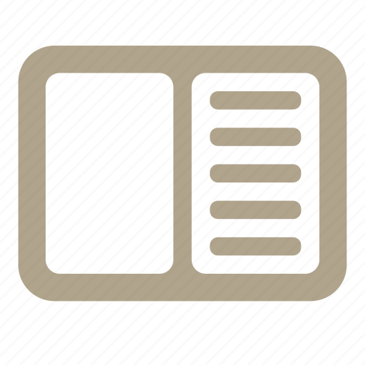 copybook, education, icojam, list icon