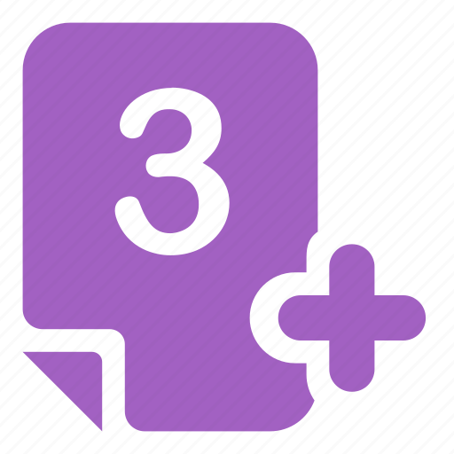 assessment, evaluation, mark, mark 3+ icon