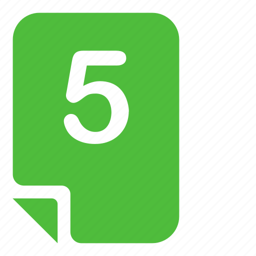 assessment, evaluation, excellent, mark, mark 5 icon