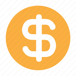 coin, currency, dollar, finance, money, payment icon
