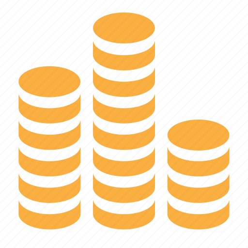 cash, coins, currency, finance, gold, icojam, money icon