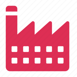 building, corporate, factory, industry, manufacture icon